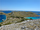 Excursion to National park Kornati by boat Galeb