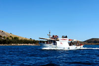Boat Racic - Excursion to National park Kornati